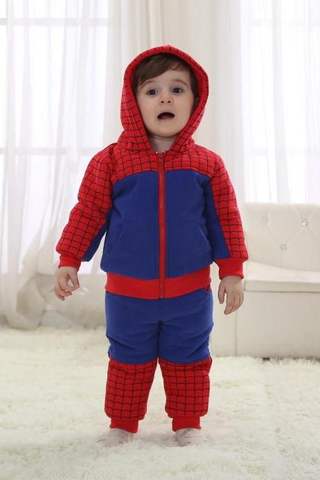 Spider-man toddler clothes Gift for New Baby ,Knitwear Jumpsuit Warm Winter ,Babywear,Christmas Baby,cute baby onesie,1st Birthday Owl Bodysuit,Funny Baby Clothes