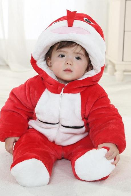 Red snake Winter Type Animal Baby Hooded Unisex Playsuits Romper Toddlers jumpsuit,Christmas Baby,funny baby onesies,cute baby onesie,1st Birthday Owl Bodysuit