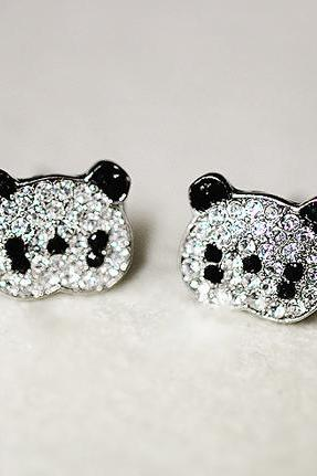 Adorable Panda Earrings