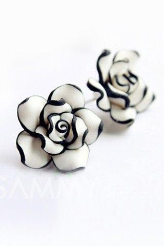 Cute Rose Earrings