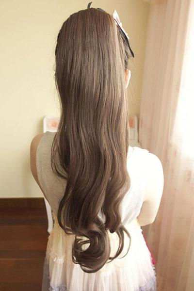 Wavy Ponytail/Hair Products