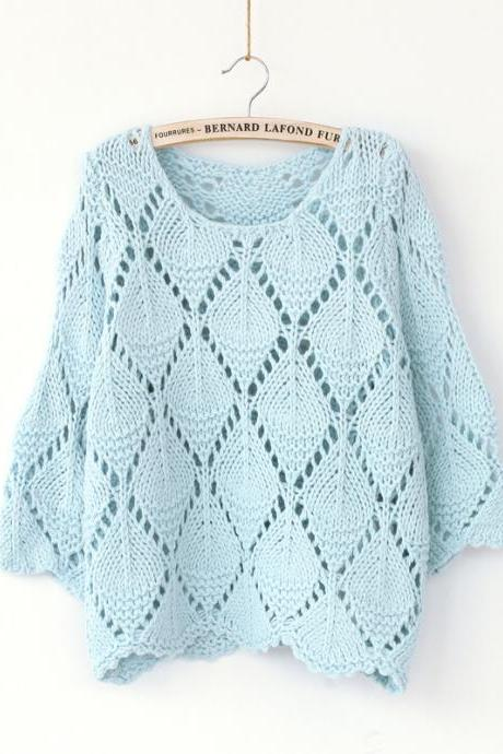 Pierced Loose Sweater