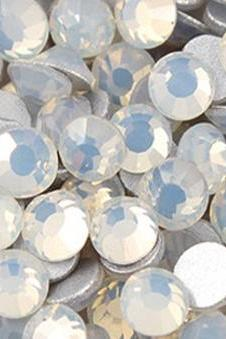 1440 pcs SS12 (3.0mm) High Quality Crystal Flatback Rhinestones - 2028 White Opal (White Opal 234) No Hotfix