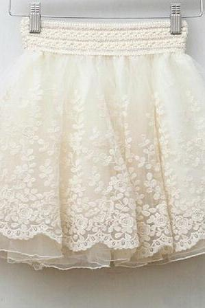 Retro Princess Lace Skirts FS102606FH