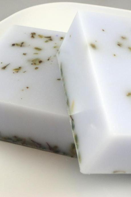 Lavender Shea Butter Soap Made with Lavender Buds