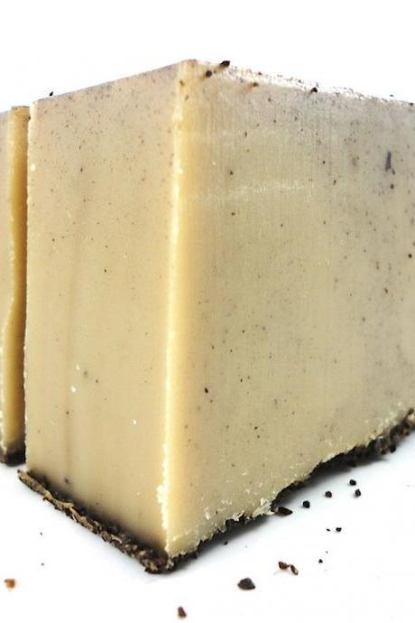 Coffee Lovers Soap - Made with Goats Milk and Real Coffee Grounds