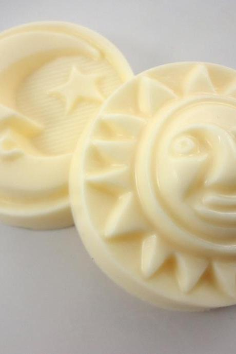 Sandalwood Sun and Moon Soap