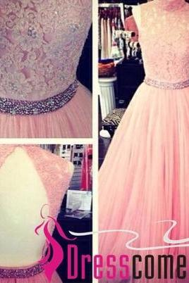 Pink Prom Dresses, Discount Prom Dresses, Tulle Prom Dresses, Long Prom Dresses, Cheap Prom Dresses, Dresses For Prom,