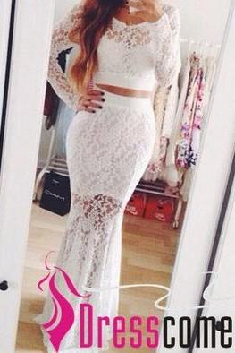 White Prom Dresses, Lace Prom Dresses, Tulle Prom Dresses, Long Prom Dresses, Sheath Prom Dresses, Dresses For Prom,