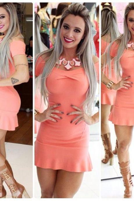 Bandage BodyCon Mini Dress