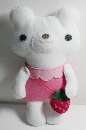 Little Polar Bear - PDF Doll Pattern