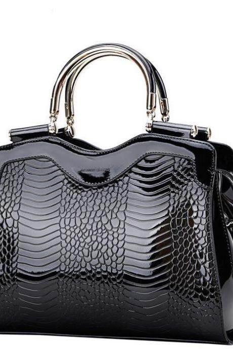 Black Bag Genuine Leather Handbags Luxury Bags Black Totes