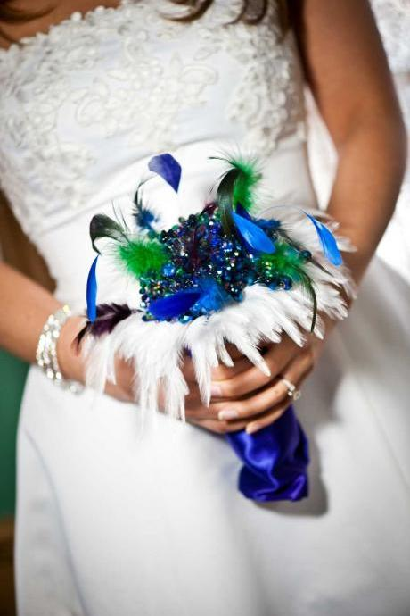 Crystal, Pearl, Brooch or Feather Wedding Bouquets and Accessories - Deposit and Ordering information