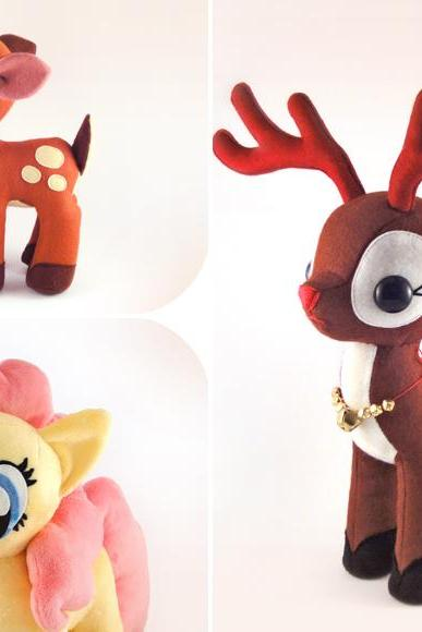 Pony Fawn Reindeer - PDF Pattern Download
