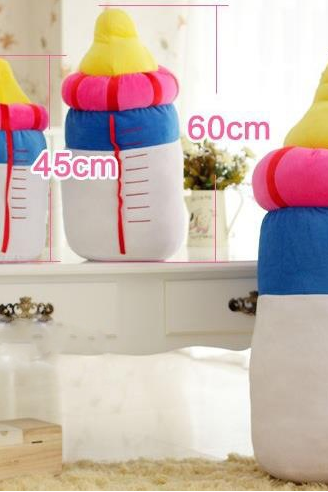 Creative plush toys new large simulation bottle dolls wholesale Valentine birthday gift girls