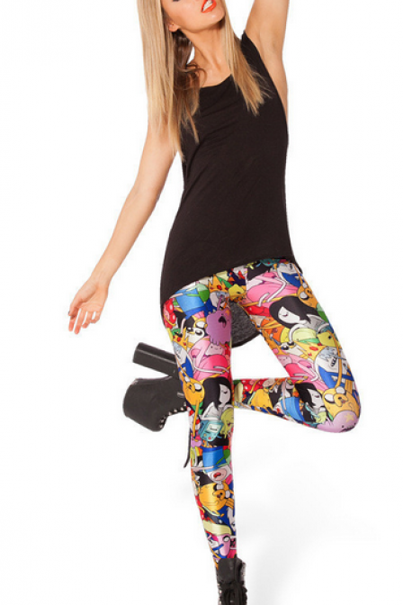 Fashion printed leggings