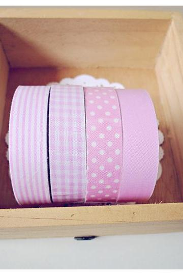 Pink Fabric Tapes