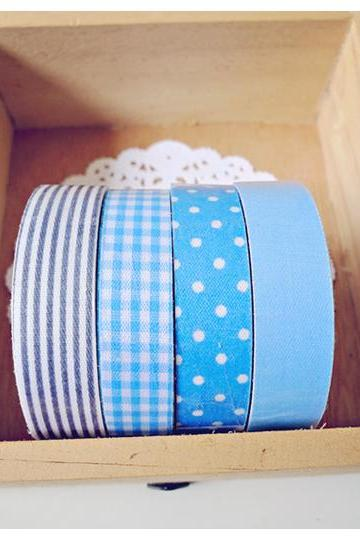 Blue Fabric Tapes