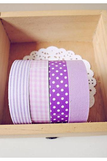 Purple Fabric Tapes
