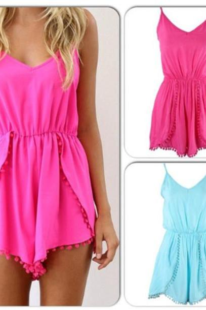 FASHION SUMMER SHORTS JUMPSUIT