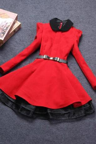 Slim long-sleeved dress VG10601NM