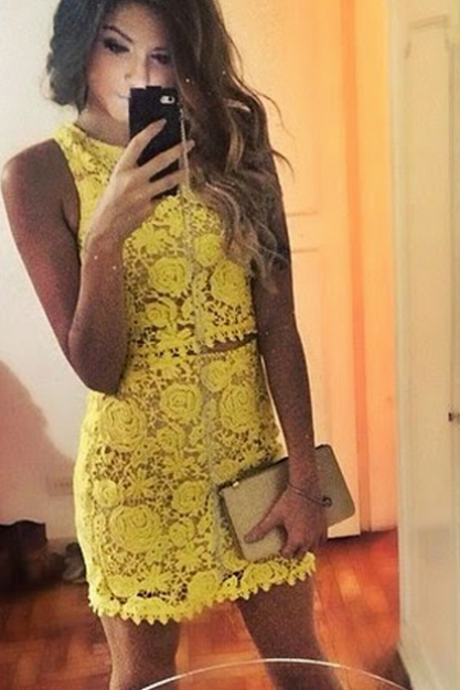 FASHION HOT CUTE LACE DRESS