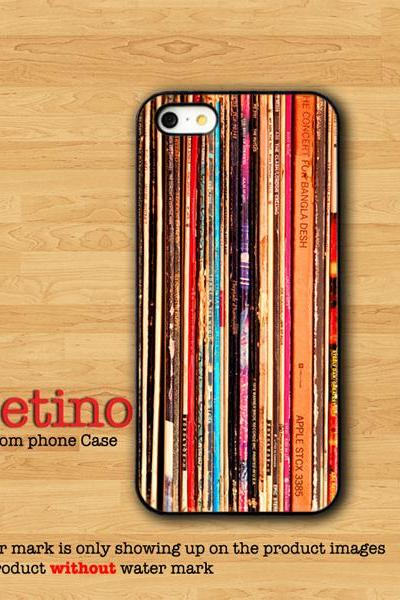 Vintage Music Tape Disc Record Phone CASE IPHONE 6 iPhone 5S iPhone 4S Samsung Galaxy S4 S3 Art Hipster Indie Grunge Old Collection