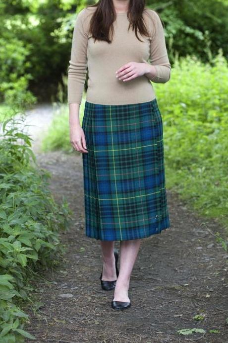 Kilted Skirt available in Royal Stewart, Black Watch & Scottish National