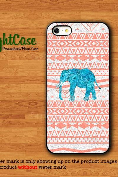 Elephant Aztec Case iPhone 4S Case Smart animals iPhone 5S Beautiful iPhone 6 iPhone 6 Plus Samsung Galaxy S5 S4