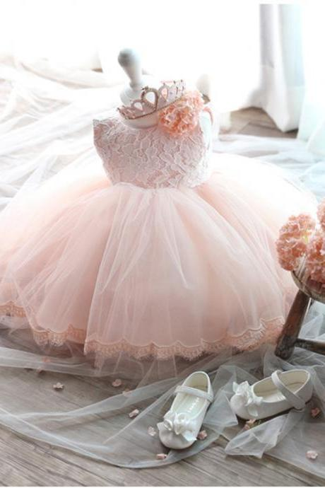 Ulass High grade girls princess dress skirt pink dress girl children long sleeved dress dress autumn female children