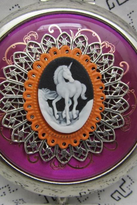 Compact Mirror Unicorn