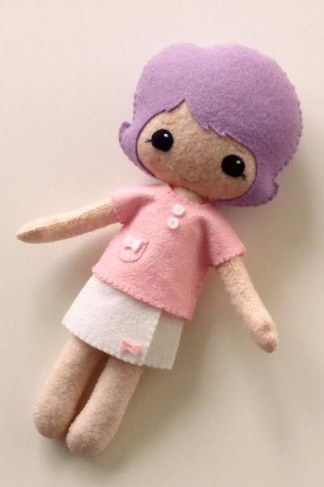 Wrap Skirt and Top pdf Pattern for Best Friends Dolls