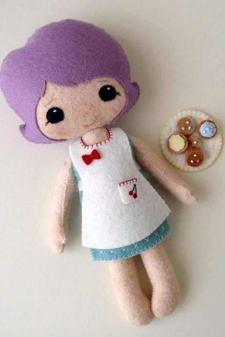 Baking Set pdf Pattern for Best Friends Dolls