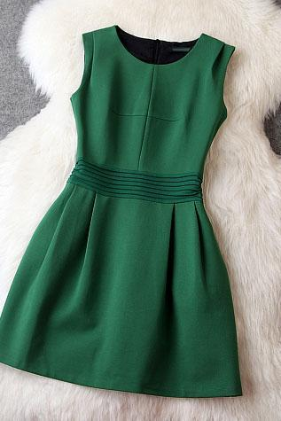 Slim Green Party Dress/Evening Dress