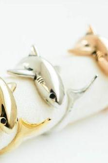 glazed vintage shark adjustable ring,animal ring,adjustable rings,cute ring,cool ring,couple ring,mens rings,unique ring,bridesmaid gift