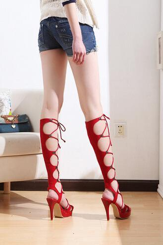 Summer Fashion High-Heeled Sandals