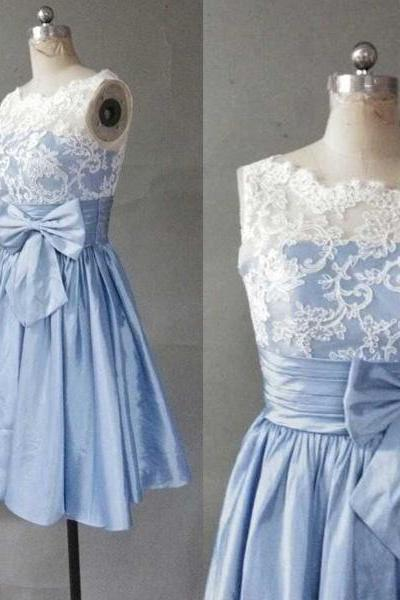 Cute Mini Homecoming Dress With Appliques, Homecoming Dress, Lace Homecoming Dresses,New Arrival Homecoming Dresses