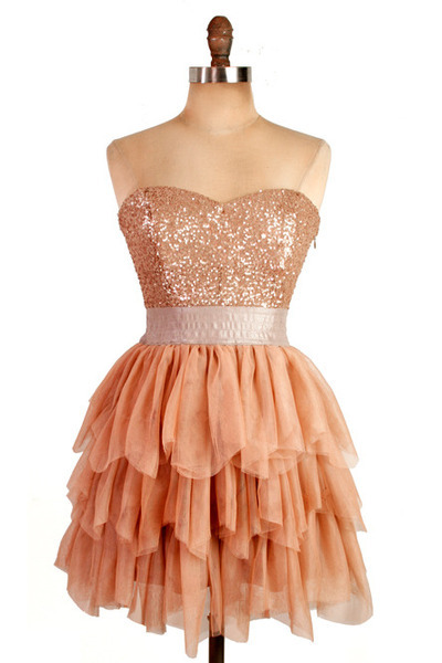 Short Chiffon Prom/Cocktail Dress