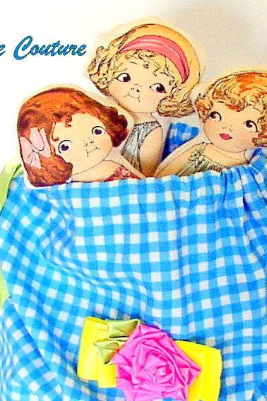 4pc Bag of Dolls .....First Birthday, Baby, Girls, Toddler