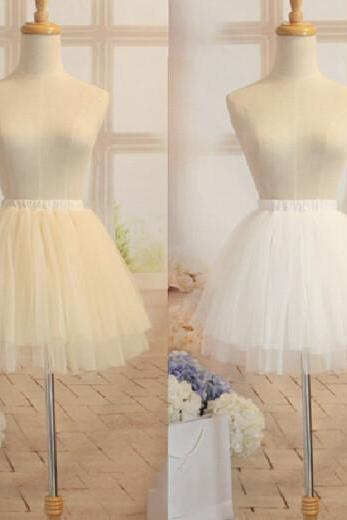 High Quality Cute Short Tulle Skirt in Stock, Lovely Skirt, Skirts, Women Skirts, White skirts, Black skirts