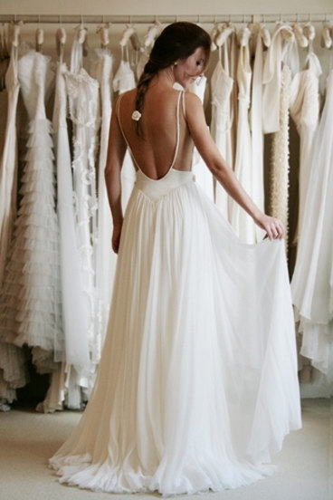 Custom Made Floor Length Backless Lace Wedding Dresses,Bridal Dresses,wedding gowns,Lace Wedding Dresses, plus size backless wedding dresses