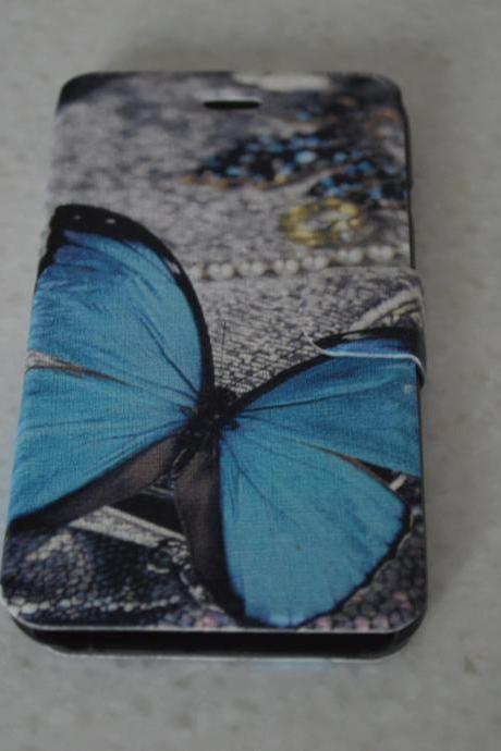 Blue Butterfly Iphone 6 Cover
