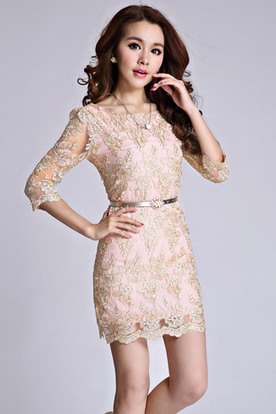 Gold Thread Lace Embroidery Big Yards Of Cultivate One's Morality Dress Organza Dress