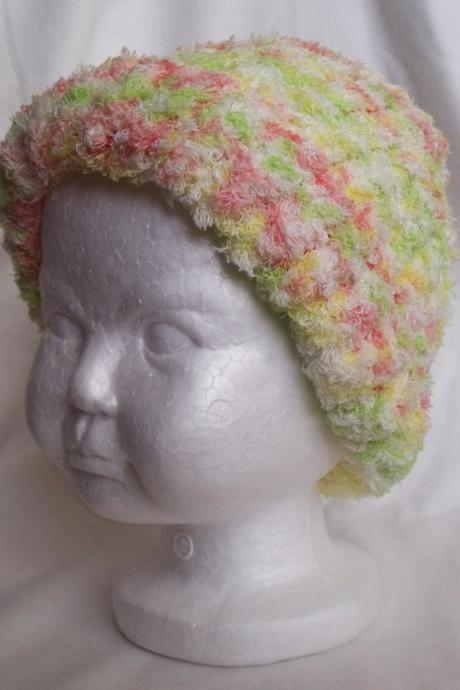 Pastel baby Knit hat, toddler knit hat, girl knit hat, knit child hat, baby knit hat