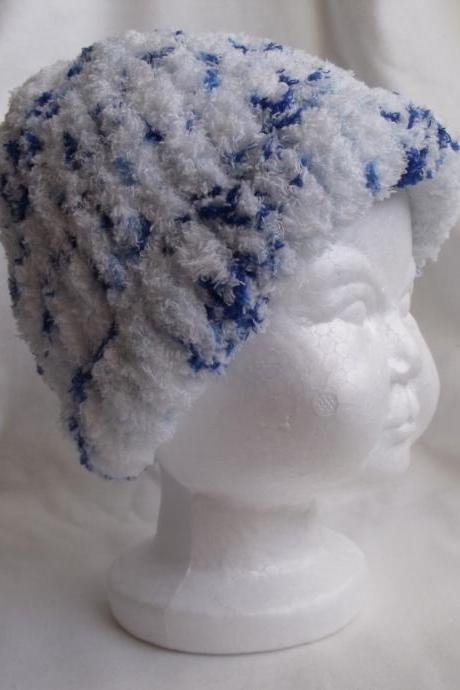 Baby Knit hat, boy knit hat, newborn knit hat, knit child hat, blue baby knit hat