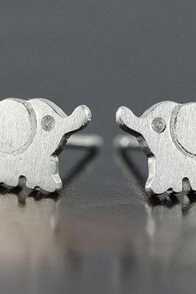 Lovely Silver Stud Earrings