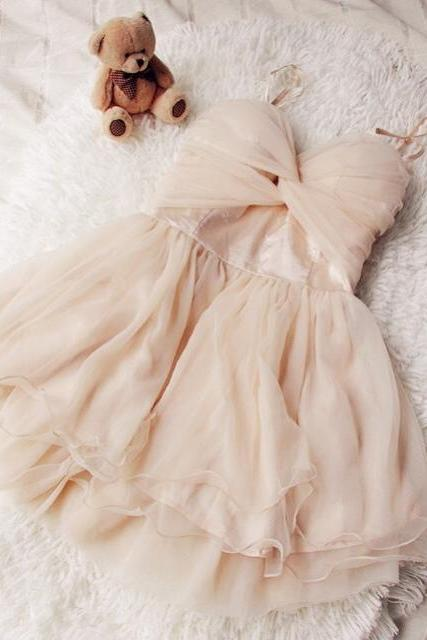 Lovely Tulle Mini Sweetheart Party Dresses, Homecoming Dresses, Formal Dresses, Mini Prom Dresses
