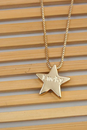 Lucky Star Pendant Necklace