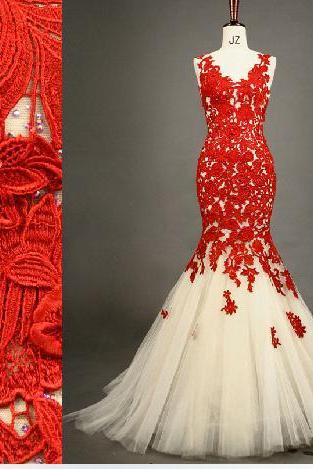 2015 Fashion Sheath Off The Shoudler Prom Dresses Lace Up Lace Applique Evening Dress Bridesmaid Dresses Custom Made
