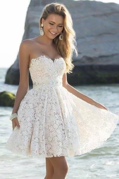 Gd240 Short Graduation Dress,Lace Graduation Dress,Sweetheart Graduation Dress,Dress for Graduation